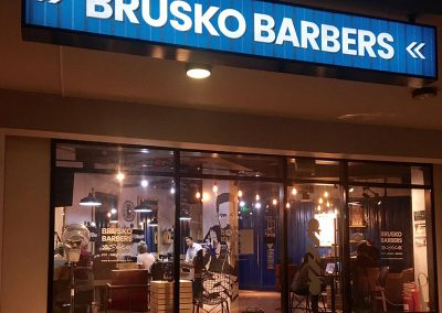 Brusko-Barbers-Night-Exterior